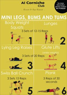 Mini Legs, Bums and Tums
