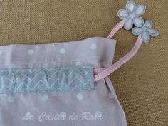 La casita de Rosa: Tutorial bolsas para la maleta.