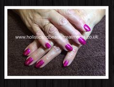CND Shellac Butterfly Queen on natural nails #CND #shellac #butterflyqueen #manicure