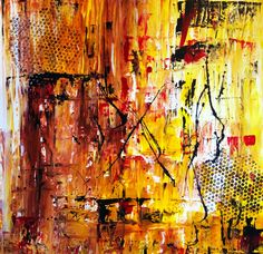 Acrylic Painting Large Abstract Acrylic Painting by ArtStage