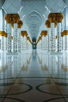 Hall of Pillars by Julian John