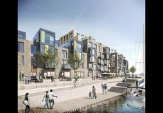 Poole Council's planning committee has refused planning permission for HKR Architects' million West Quay scheme, going against the recommendations of its own planning officers Architects Journal, Street View, River, Architecture, News, Projects, Arquitetura, Blue Prints, Architecture Illustrations