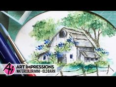 Art Impressions Blog: NEW VIDEO - Old Barn from our 2016 Summer Release!