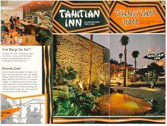Original Tahitian Inn, Tampa, FL (motel) -- Tiki Central Vintage Tiki, Old Florida, Sweet Memories, Motel, Places Ive Been, Graphics, Sign, Island, Graphic Design
