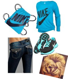"""""""NIKE , School Day !"""" by paigerrs99 on Polyvore"""