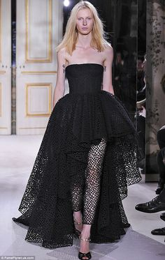 On the runway: Giambattista Valli @ his Paris couture show in February