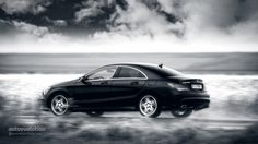 MERCEDES-BENZ CLA in Black and White