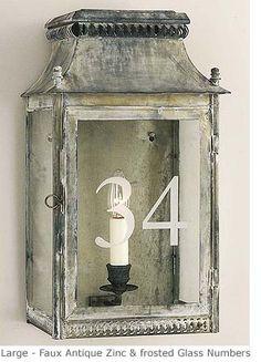Ledbury Wall Lantern - Product WL Charles Edwards Note finish on this wall lantern.