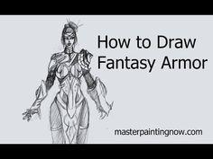 How to Draw Fantasy Armor Fantasy Armor, Sci Fi Fantasy, Drawing Sketches, Drawing Stuff, Drawings, Army Drawing, Art Tutorials, Drawing Tutorials, Cool Art