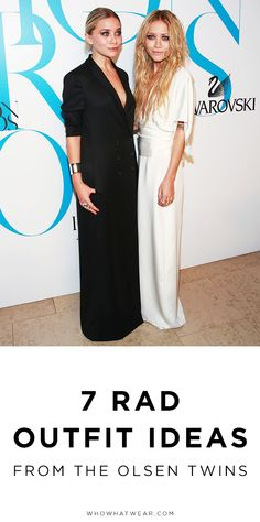 Cool outfit ideas from the Olsens that are still on-trend