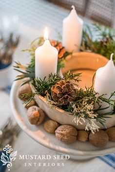 ring mold advent wreath | miss mustard seed