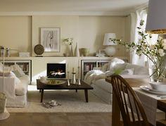 Dunkles Wohnzimmer Entdeckt Den Landhausstil