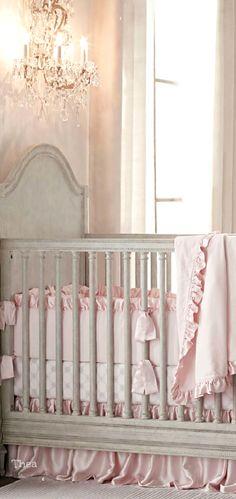 Nursery ● Décor, Crib
