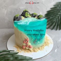 write name on pictures with eNameWishes by stylizing their names and captions by generating text on Cute Birthday Wishes Cake with Name with ease. Cute Birthday Wishes, Happy Birthday Cakes, Birthday Cake Write Name, Cake Name, Wishes Images, Names, Captions, Desserts, Create