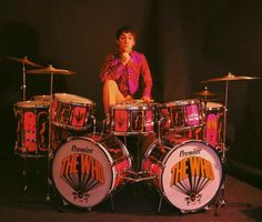 Keith Moon... drummer par excellence... gone, not forgotten