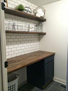 Top cozy small laundry room design ideas (36)