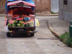 Et lad fyldt med frugt