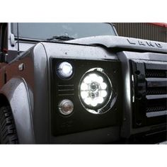 Terrafirma GDL016 Duo-Lux 7 inch Headlight Single LHD for Land Rover Defender