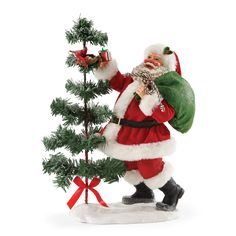 The Jolly Christmas Shop - Department 56 Possible Dreams Santa Santa's Nest Stop 4052451, $70.00 (http://www.thejollychristmasshop.com/department-56-possible-dreams-santa-santas-nest-stop-4052451/)