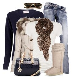 It's cold outside by wishlist123 on Polyvore featuring polyvore moda style Brora Linea Miss Me Mou MICHAEL Michael Kors