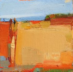 Sandy Ostrau - Two with View 18x18