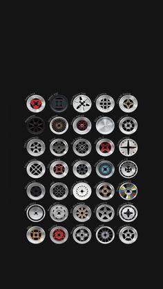 Creative And Inexpensive Unique Ideas: Car Wheels Recycle Fire Pits car wheels dads.Car Wheels Diy Old Tires car wheels rims behance. Bronze Wheels, Chrome Wheels, Black Wheels, Black Cars, Rims For Cars, Rims And Tires, Car Rims, 240z Datsun, Vw Caddy Mk1