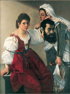 Artemisia Gentileschi with Orazio Gentileschi LA CABEZA DE SAN JUAN EL BAUTISTA, PRIMO DE JESÚS
