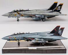 Military Jets, Military Aircraft, Plastic Model Kits, Plastic Models, Fighter Aircraft, Fighter Jets, Uss Enterprise Cvn 65, Classic Road Bike, F14 Tomcat