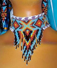 Native American Beadwork Designs or Patterns
