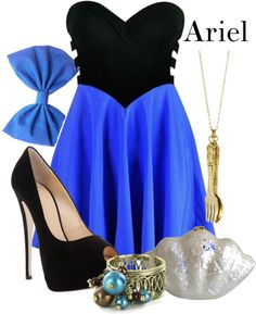 Ariel - The Little Mermaid I would love it with a black flat.