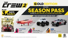 Learn about The Crew 2 Release Date Pre-order Bonuses Announced http://ift.tt/2ip2ZET on www.Service.fit - Specialised Service Consultants.