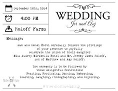 "See Jeremy Roloff's Wedding Invitation! Little People, Big World Star to Say ""I Do"" to Audrey Mirabella Botti  Roloff Wedding Invitation, Aubrey Botti, Jeremy Roloff"