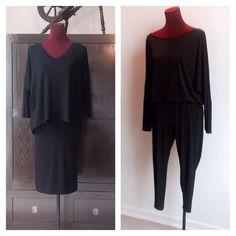 Classic black skirt ,jumpsuit