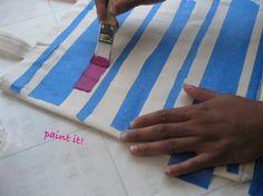 diy canvas bag. Inspiration for canvas bag