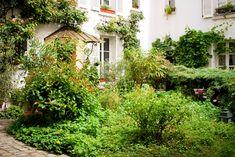 Les cours intérieures du village de Charonne - Et si on se promenait... à Paris ! - Et si on se promenait... à Paris !