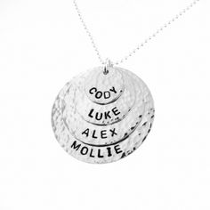959d068ad8656 102 Best Hand Stamped Jewelry - Mommy Necklaces - JC Jewelry Design ...