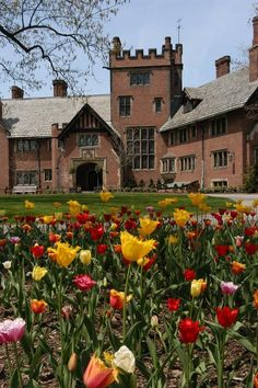 Stan Hywet Manor House...looks just like my garden.