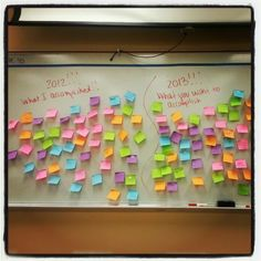 Perfect activity for the last day before Christmas break! Have students acknowledge one of their accomplishments from the current year and a goal for the following year!