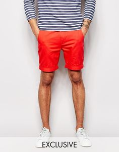 $67, D Struct Chino Short. Sold by Asos. Click for more info: https://lookastic.com/men/shop_items/212256/redirect