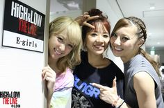 HiGH&LOW THE LIVE (backstage pics) Tokyo Dome, Tokyo (Day 2 - 08.09.2016) © E-girls mobile