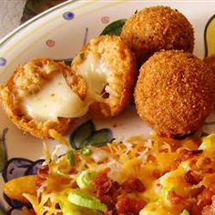 Italian Rice Balls Recipe on Yummly Yummy Appetizers, Appetizer Recipes, Italian Appetizers, Dessert Recipes, Italian Rice Balls Recipe, Great Recipes, Favorite Recipes, Italian Recipes, Italian Dinners