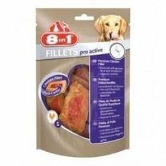 8in1 Европа Куриное филе для повышения активности S - Интернет зоомагазин Dogstars. Купить корм для собак и кошек в Николаеве