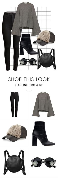 """city outfit"" by liekejongman on Polyvore featuring H&M, Beaufille, rag & bone, Zara and Monki"