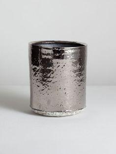 Matthias Kaiser - platinum vase with sand base