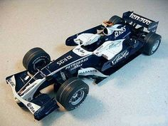 F1 Paper Model - Williams FW30 Paper Car Free Vehicle Paper Model Download
