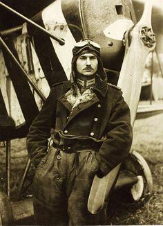 World War One German Aviator Lt. Josef Mai by San Diego Air & Space Museum Archives, via Flickr