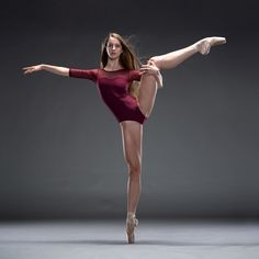 Colorado Ballet Academy's student Isabella Brown. - Zaine Ridling - Google+