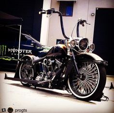 Nice Pic Softail deluxe