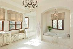 Stunning European bathroom