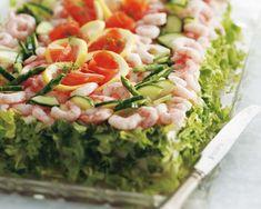Derfor er fede fisk er godt for blodet Sandwiches, Sandwich Cake, Pasta Salad, Cobb Salad, Tapas, Sushi, Buffet, Seafood, Cabbage